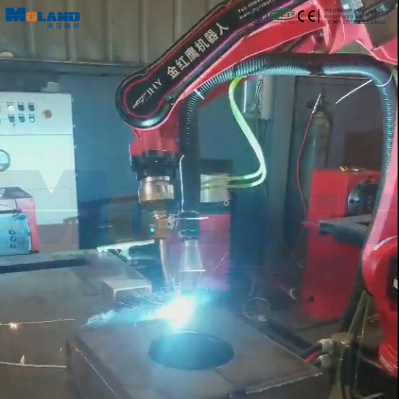 机器人焊接配套高负压烟雾净化器