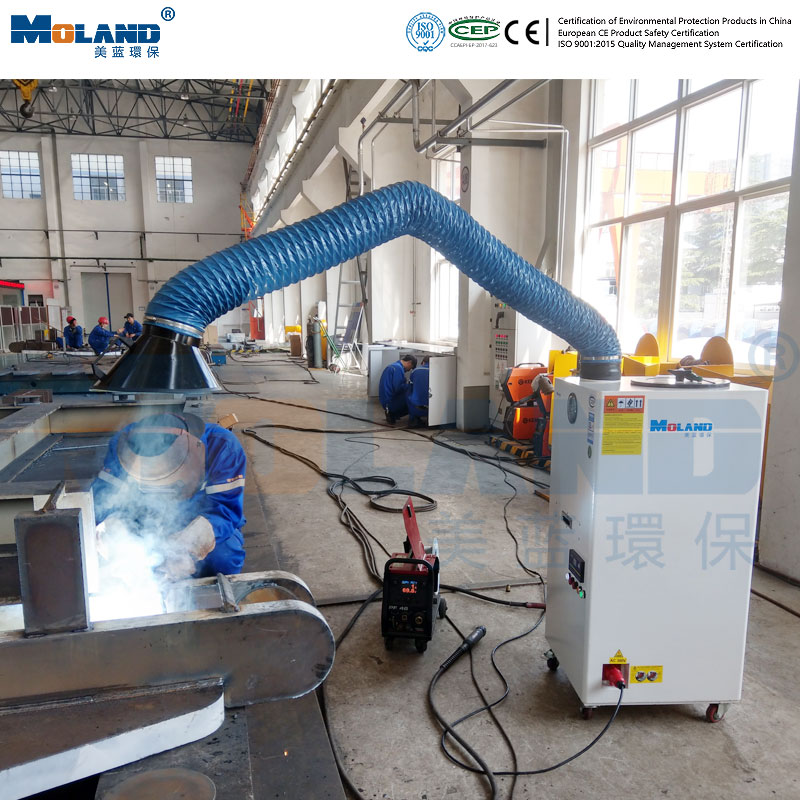 Smoke and Dust Removal Equipment for Hand Welding and Second