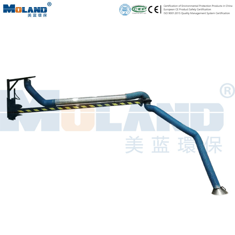 Automatic Locking Extended Inhalation Arm