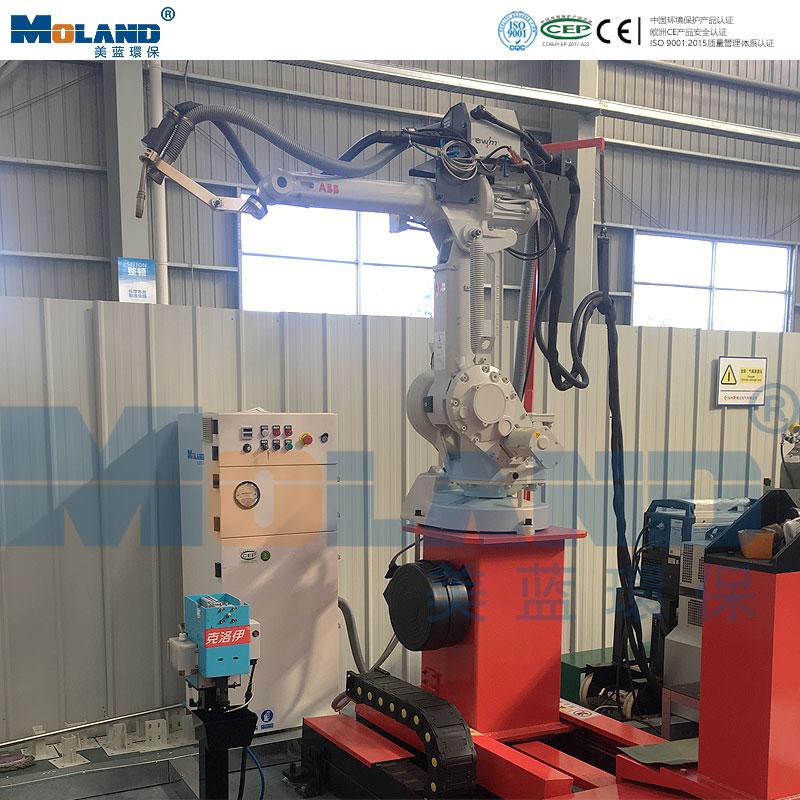 ABB机器人焊接配套高负压除尘器