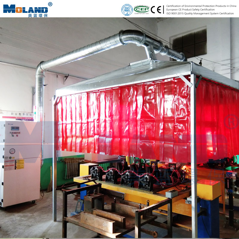 Purifier of robot welding workstation