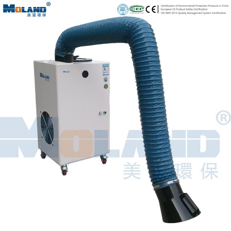 MLWF120-1.1kw-Mobile Welding Fume Purifier