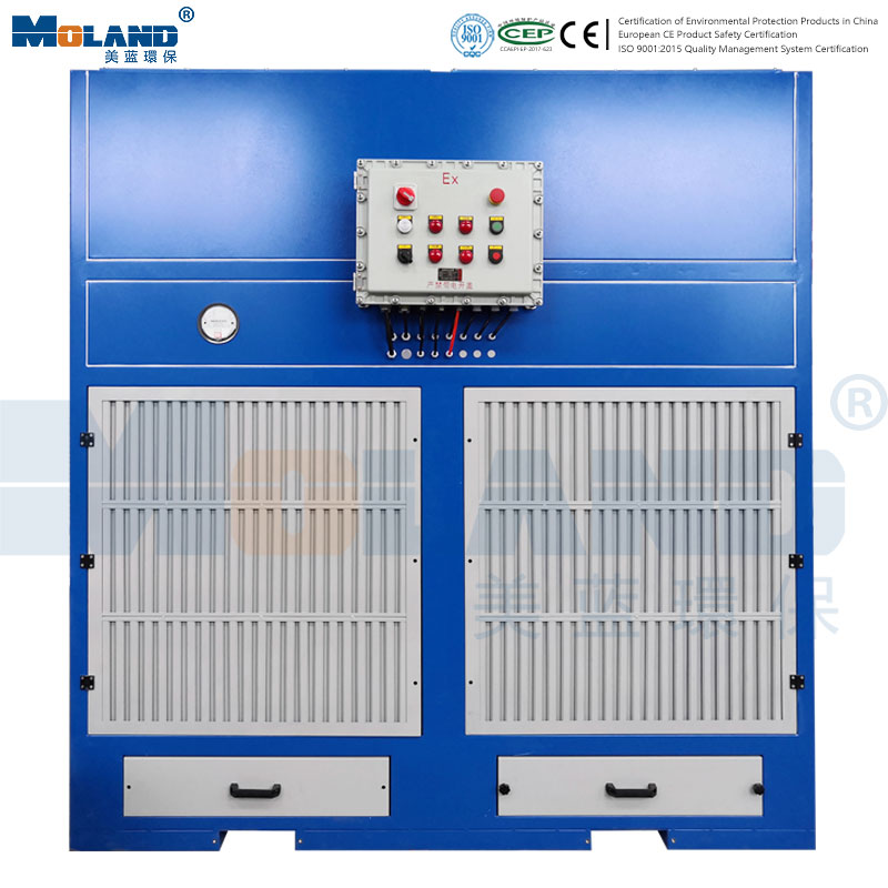 Explosion Proof Type Dust Cleaning Cabinet for Grinding