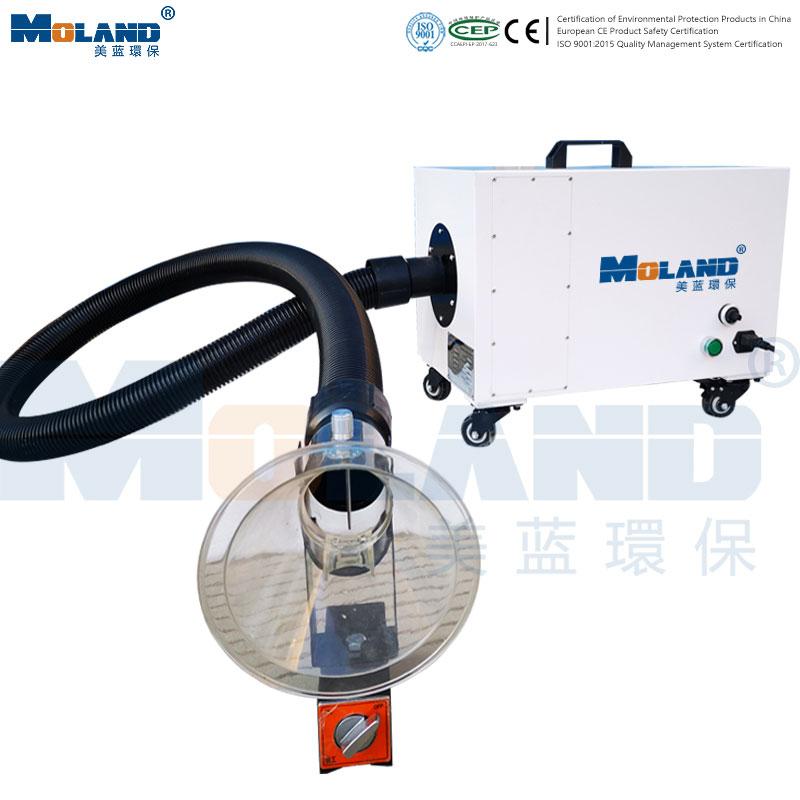 Portable smoke purifier