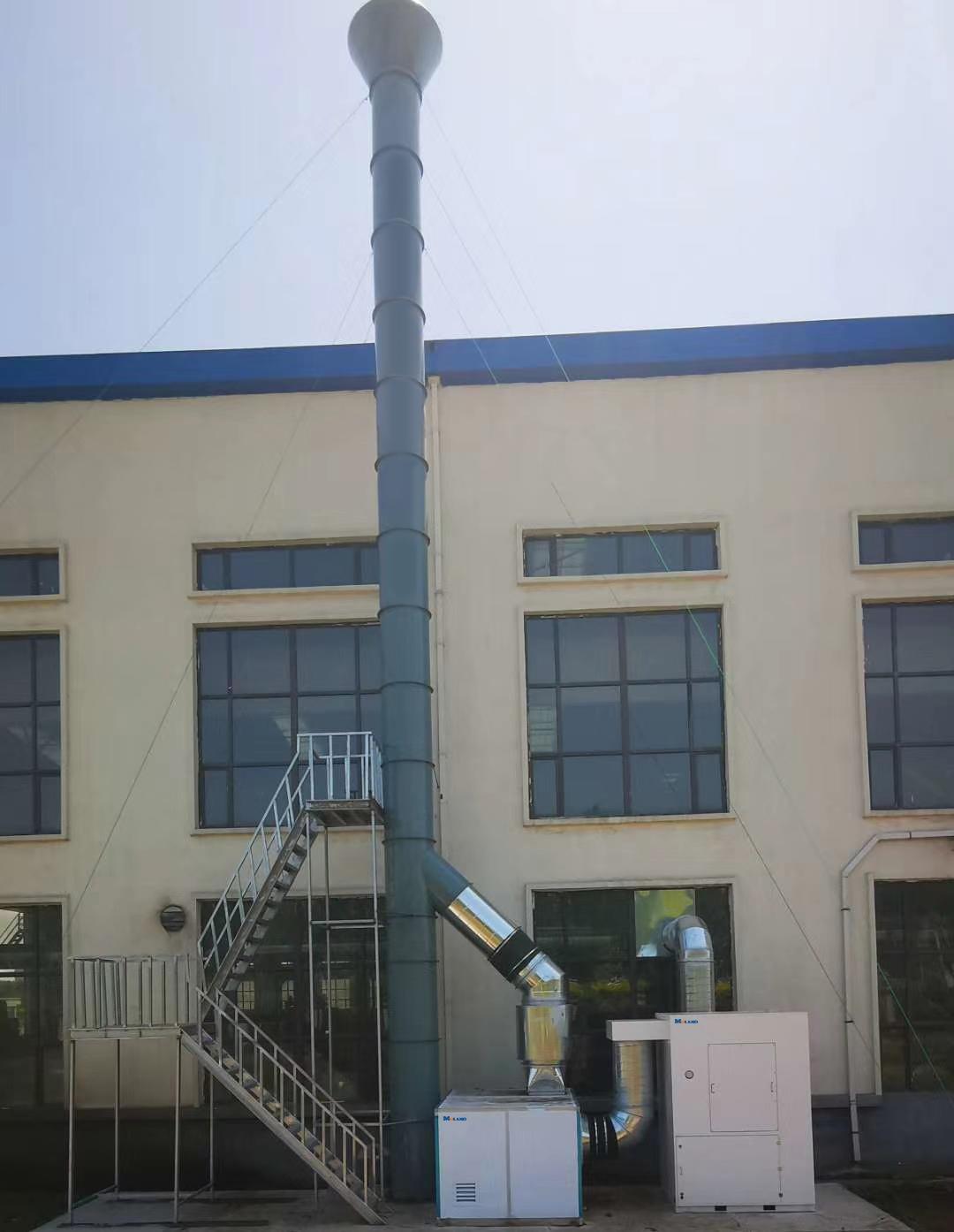 耐磨堆焊车间集中除尘-中国华电集团