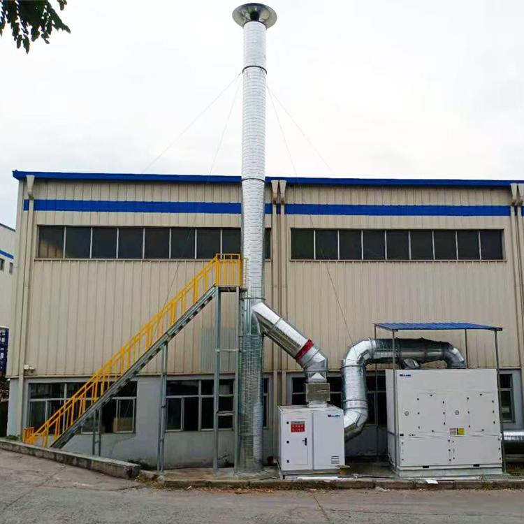西安比亚迪焊接房除尘案例