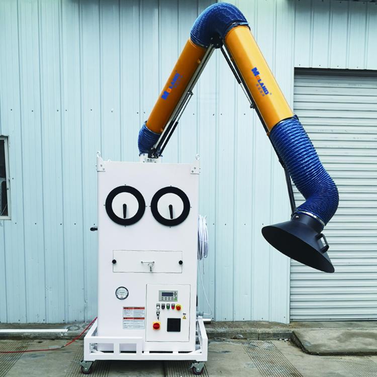新款焊烟净化器-可脉冲可手摇清灰