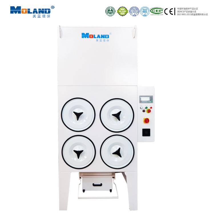 横插式滤筒除尘设备-MLWF500H1000H