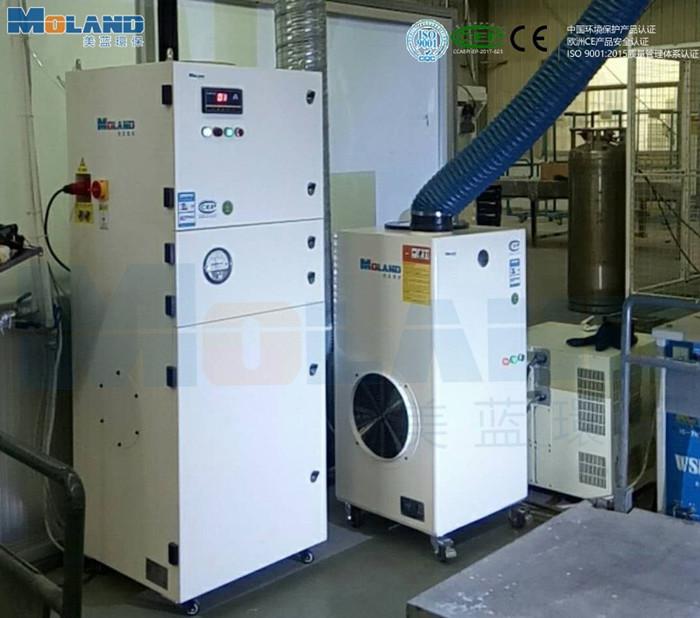 机器人焊接工作站烟雾净化机——焊烟净化器